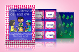 Digraphs -oa and -ow Camping Themed Activities and Games
