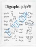 Digraphs: ph/gh/ff