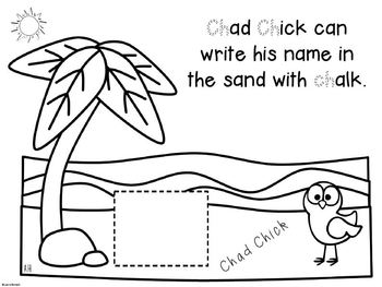 Digraphs sh, ch, th, wh ~ Activity Pack
