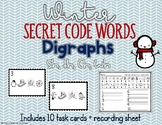 Digraphs (sh, th, ch, wh) Secret Code Words - Winter Word Work