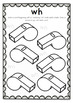Digraphs: wh Worksheets
