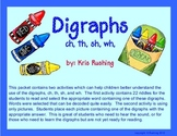 Digraphs wh, sh, th, ch