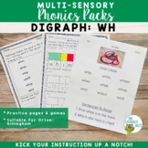 Orton-Gillingham Phonics Multisensory Activities Digraph WH