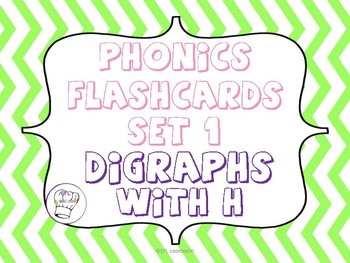 Digraphs with H flashcards!