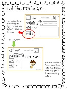 Digraphs (with pictures) Interactive Logic Book