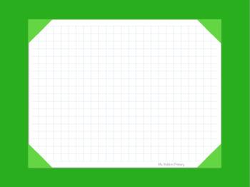 Digtial Gradebook for Goodnotes - Green
