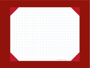 Digtial Gradebook for Goodnotes - Red