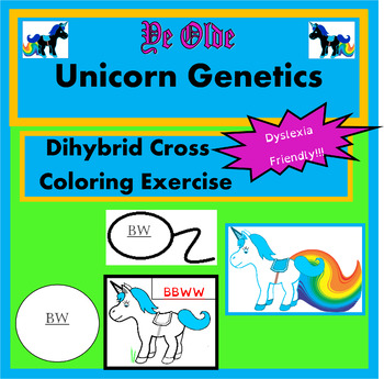 Dihybrid Cross Coloring Activity (Complete Dominance & Incomplete Dominance)