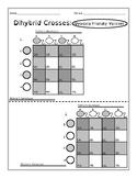 Dihybrid Cross Gamete Charts Dyslexia Blank Di-Hybrid 9:3: