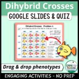 Dihybrid Crosses Digital INB and Quiz   Google Slides & Forms