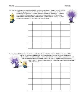 Dihybrid crosses worksheet