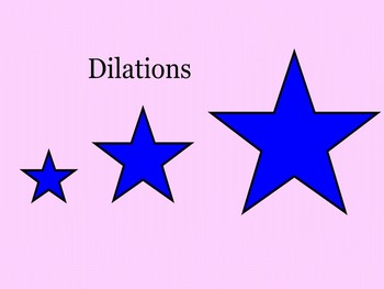 Dilation Lesson with Smartboard Files