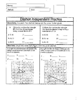 Dilation Practice