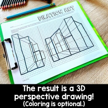 Dilation Activity: 3D Perspective Art