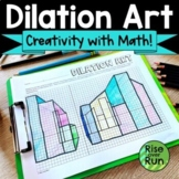 Dilation Activity Creating 3-D Perspective Art