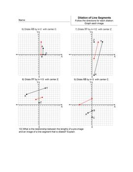Dilation of Line Segments