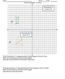 Dilation worksheet CC 8.G.3
