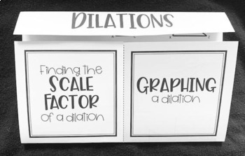 Dilations (Foldable)