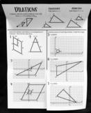 Dilations (Foldable)