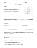 Dilations Guided Notes