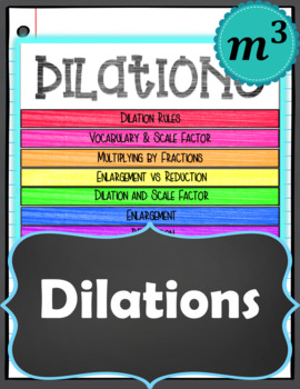 Dilations Notes for GOOGLE SLIDES