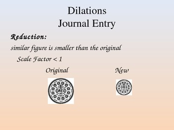 Dilations, Scale Factor & Similar Figures