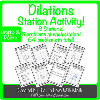 Dilations (Transformations) Station Activity!