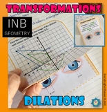 Dilations - Transformations Foldable