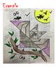 Dilations puzzle - Halloween Transformation Art activity -
