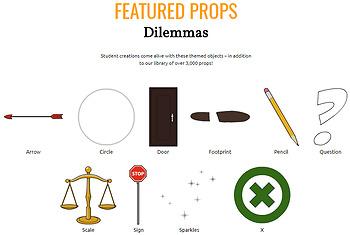 Dilemmas Activities: Introduce Dilemma, Dilemma in Film, Dilemma in Text