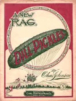 Dill Pickles Rag -  Fun Ragtime Piano