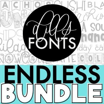Dills Fonts - Growing Bundle