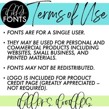 Dills Fonts - Volume 2