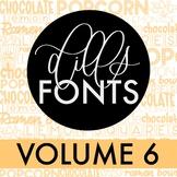 Dills Fonts - Volume 6