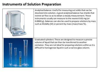Dilution and Serial Dilution Lecture Notes