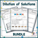 Dilution of Solutions BUNDLE