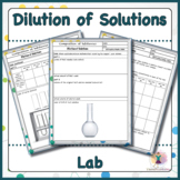 Dilution of Solutions Lab