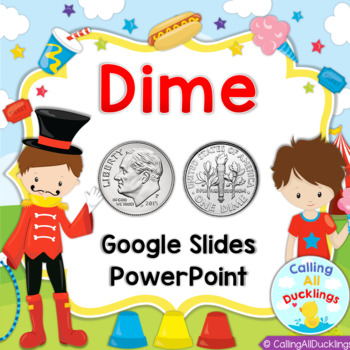 Dime Lesson Powerpoint and Smartboard