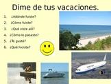 Dime de tus vacaciones