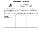 Dimension Detective