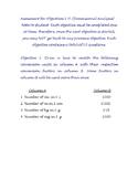 Dimensional Analysis Assessment