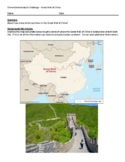 Dimensional Analysis Challenge - Great Wall of China (Ferm