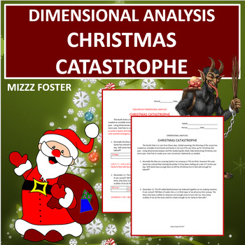 Dimensional Analysis: Christmas Catastrophe (Factor Label Method)