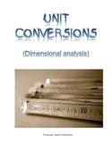 Dimensional Analysis - Conversion Factors - Common Core
