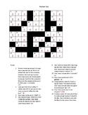 Dimensional Analysis Crossword Worksheet