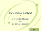 Dimensional Analysis Interactive PwrPoint Lesson