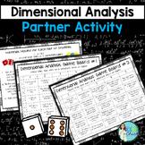 Dimensional Analysis Partner Activity