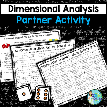 Dimensional Analysis Partner Activity