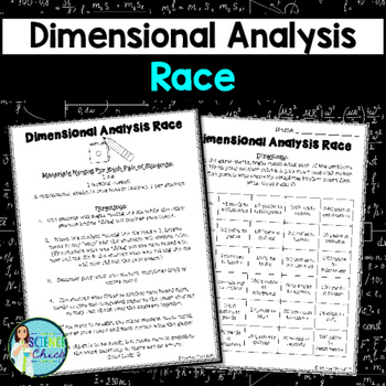 Dimensional Analysis Race