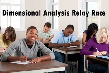 Dimensional Analysis Relay Race Activity